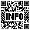 "SeeMeQR QR code displaying the word ""INFO"""